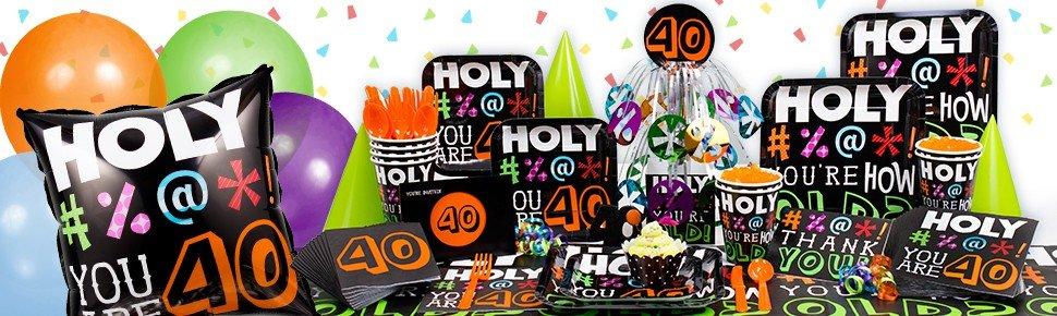 Holy Bleep - You are 40