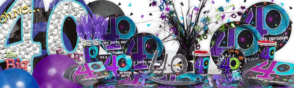 The Party Continues 40th Birthday