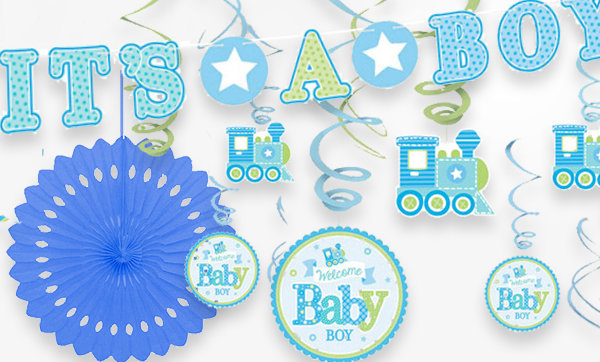 Welcome Baby Boy Baby Shower