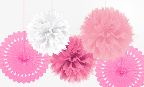 All Girls Baby Shower Decorations