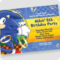 Sonic The Hedgehog Birthday Party Supplies Wholesale Party Supplies