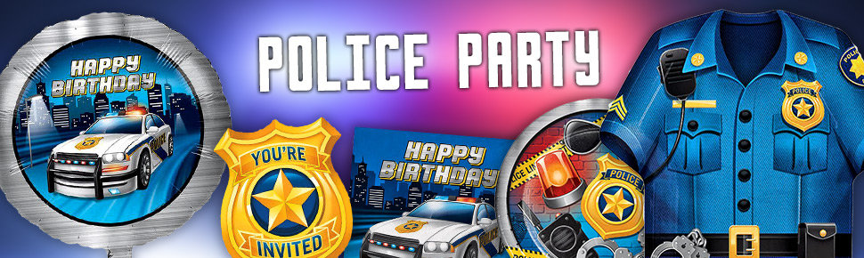Police party Header