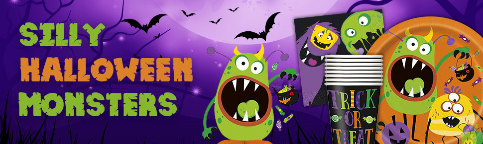 Silly Halloween Monsters