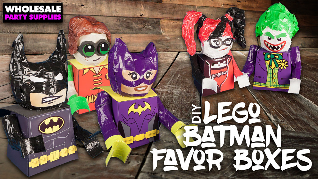 LEGO Batman Favor Boxes