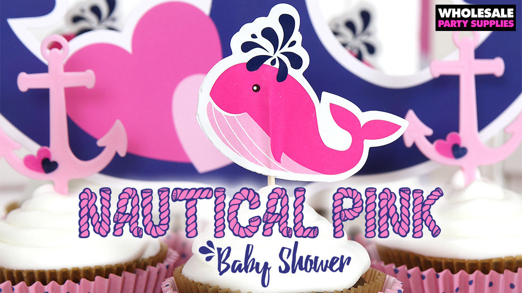 Nautical Pink Baby Shower