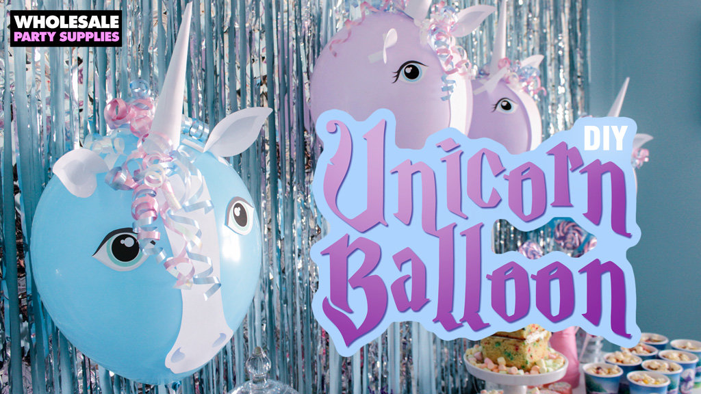 DIY Unicorn Balloon