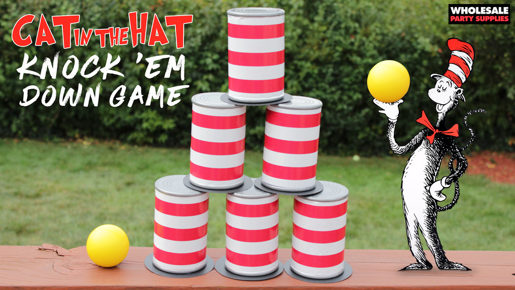 Cat in the Hat Can Game