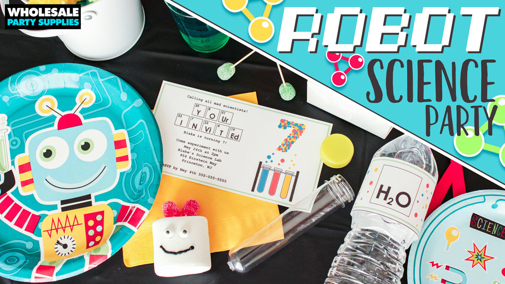 Robot Science Party Ideas
