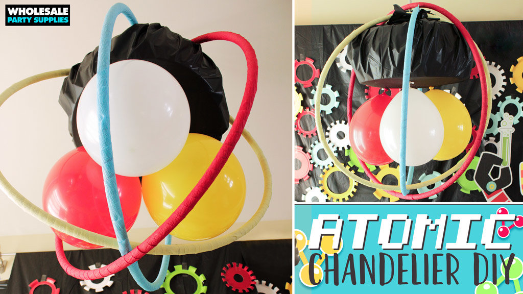DIY Atomic Chandelier