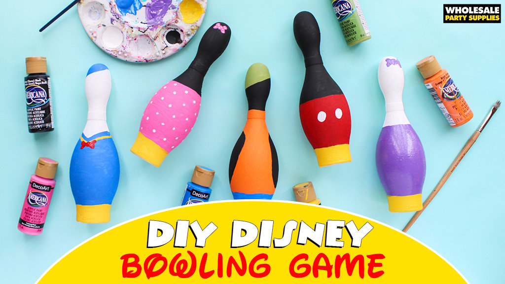 DIY Disney Bowling