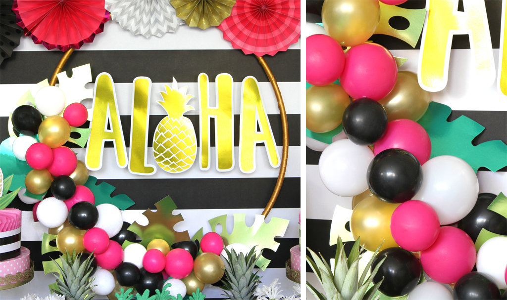 Golden Pineapple Party Ideas