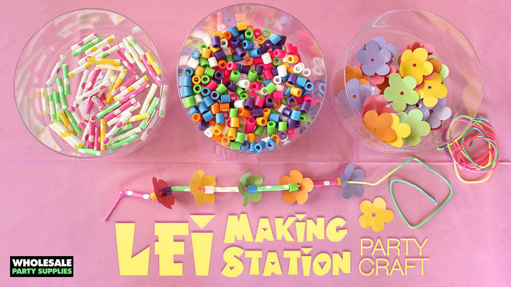 Lei Making Station