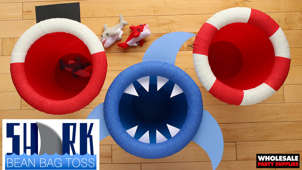 Shark Bean Bag Toss
