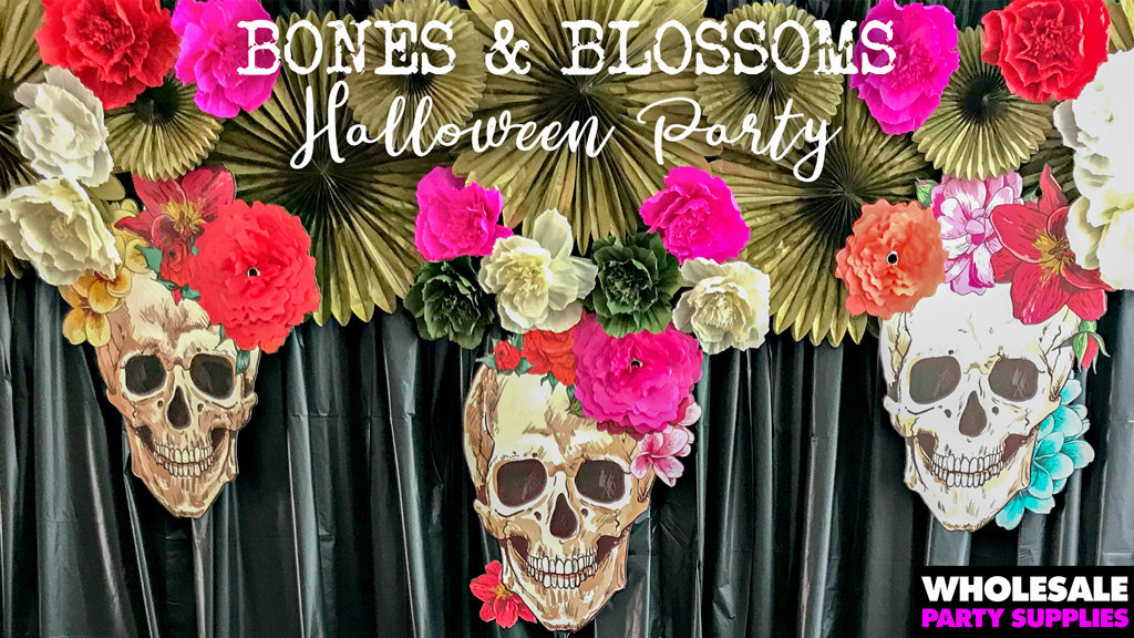 Bones and Blossoms Party Ideas