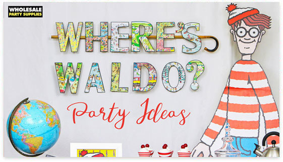 Where's Waldo Party Ideas