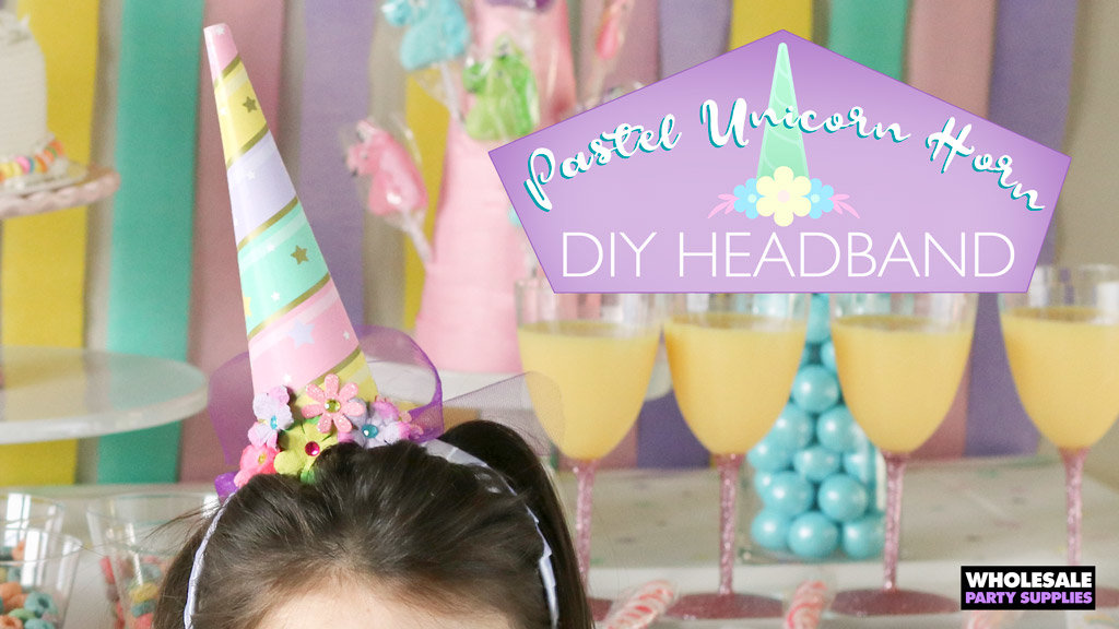 DIY Unicorn Horn Headband