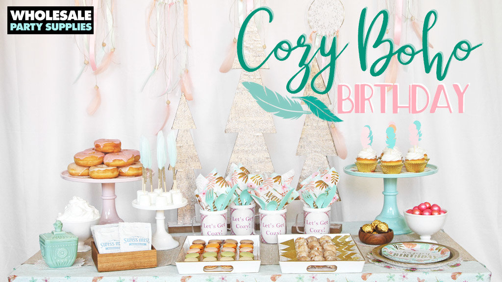 Boho Birthday Girl Party Ideas