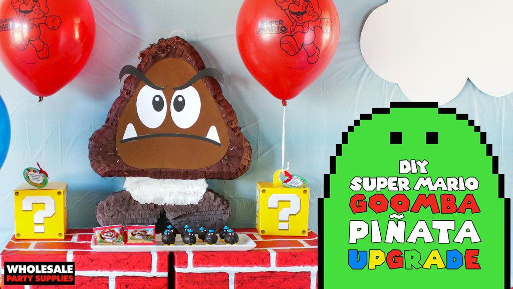 DIY Goomba Pinata Upgrade