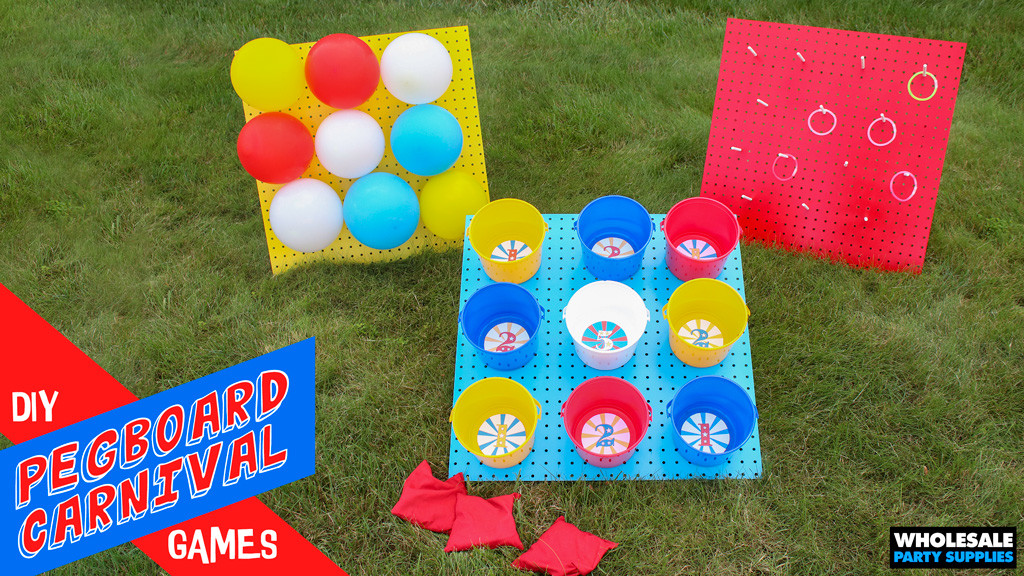 DIY Carnival Game Ideas