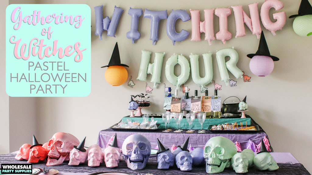 Pastel Witch Halloween Party