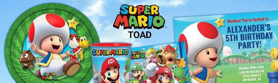 Super mario bros toad