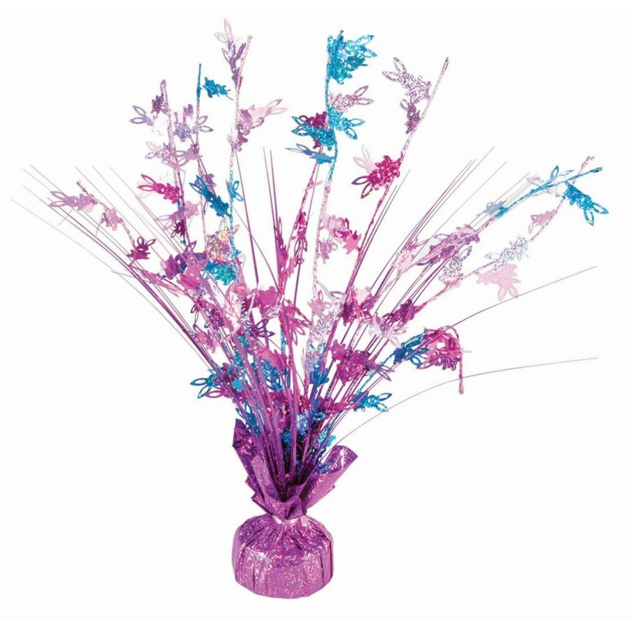 "View larger image of 15"" Holographic Pastel Easter Spray Centerpiece"