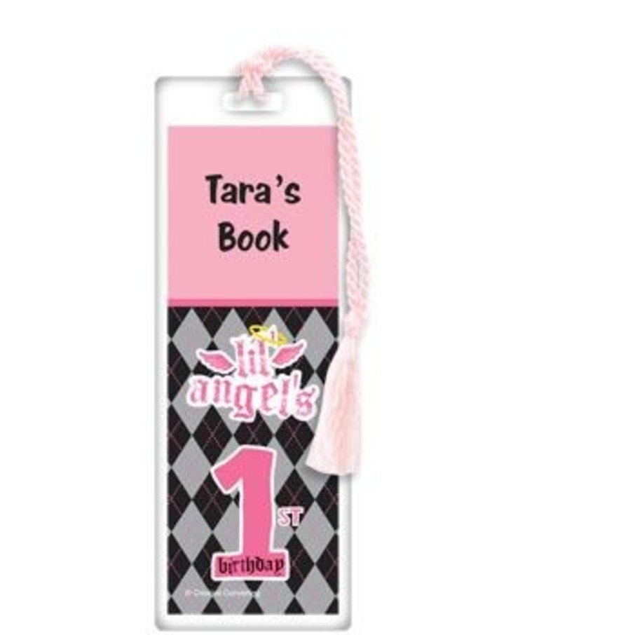 View larger image of 1st Birthday Angel Personalized Bookmark (each)