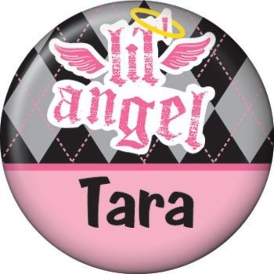View larger image of 1st Birthday Angel Personalized Mini Button (each)