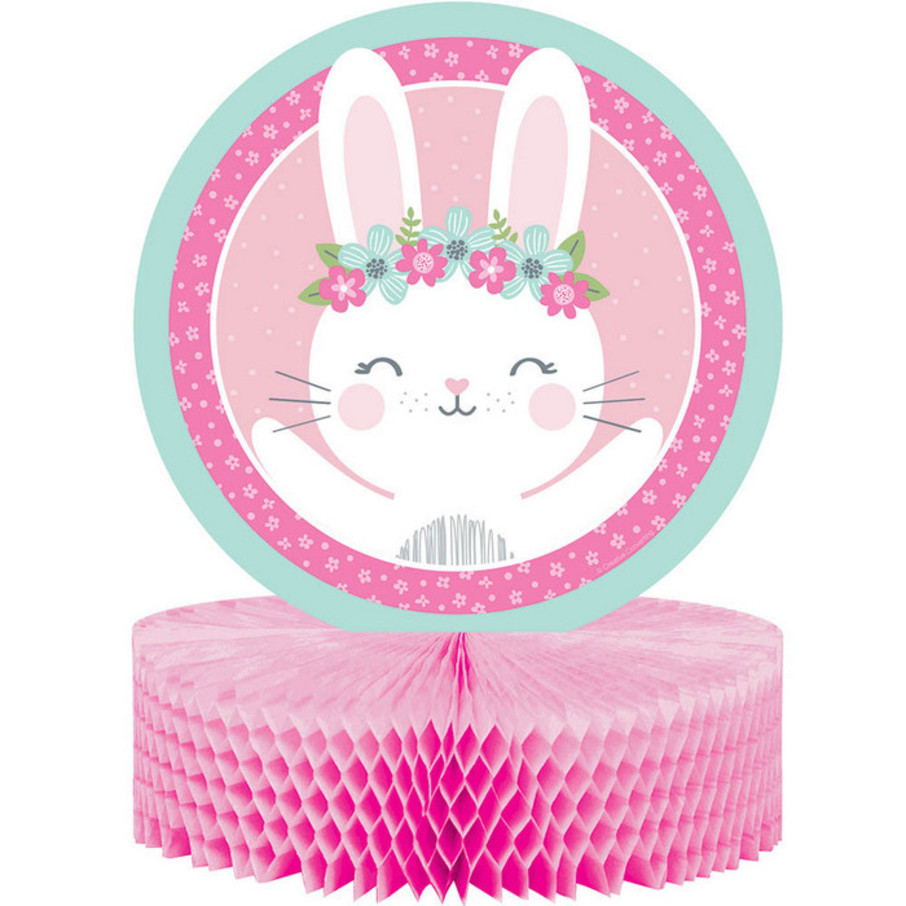 View larger image of Birthday Bunny Honeycomb Centerpiece (1)
