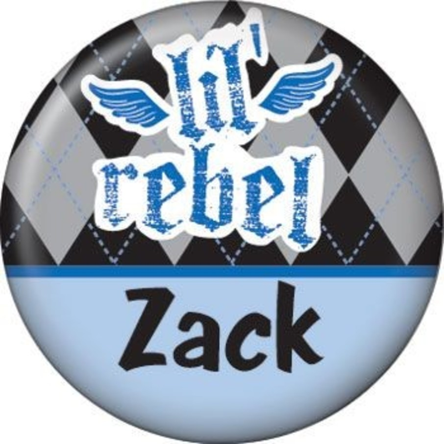 View larger image of 1st Birthday Rebel Personalized Mini Button (each)