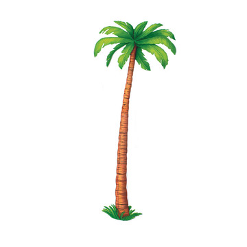 6' Jointed Palm Tree Cutout