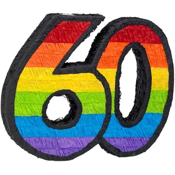 60th Birthday Pinata