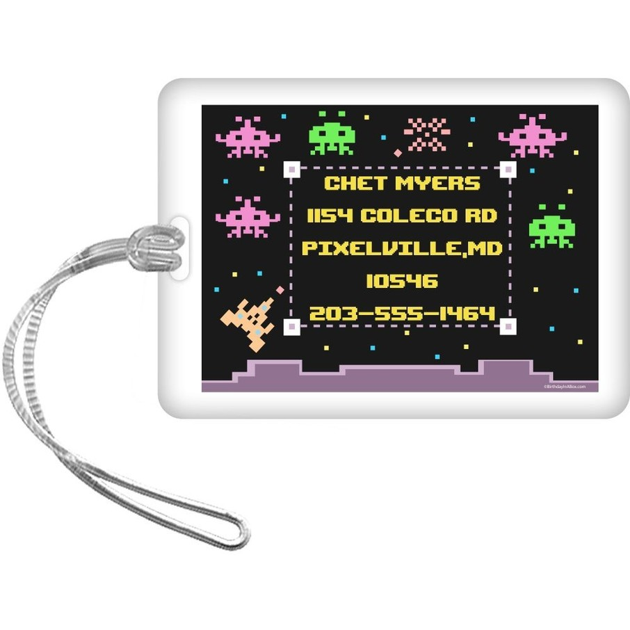 View larger image of 80's Personalized Luggage Tag (Each)