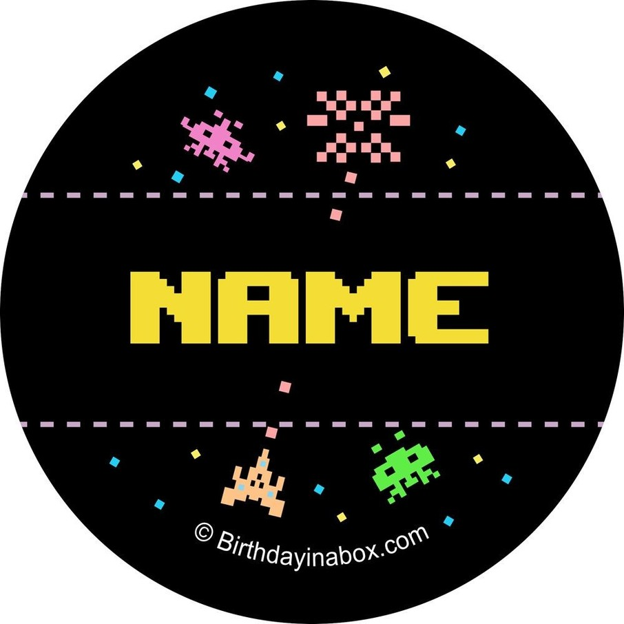 View larger image of 80s Personalized Mini Stickers (Sheet of 24)