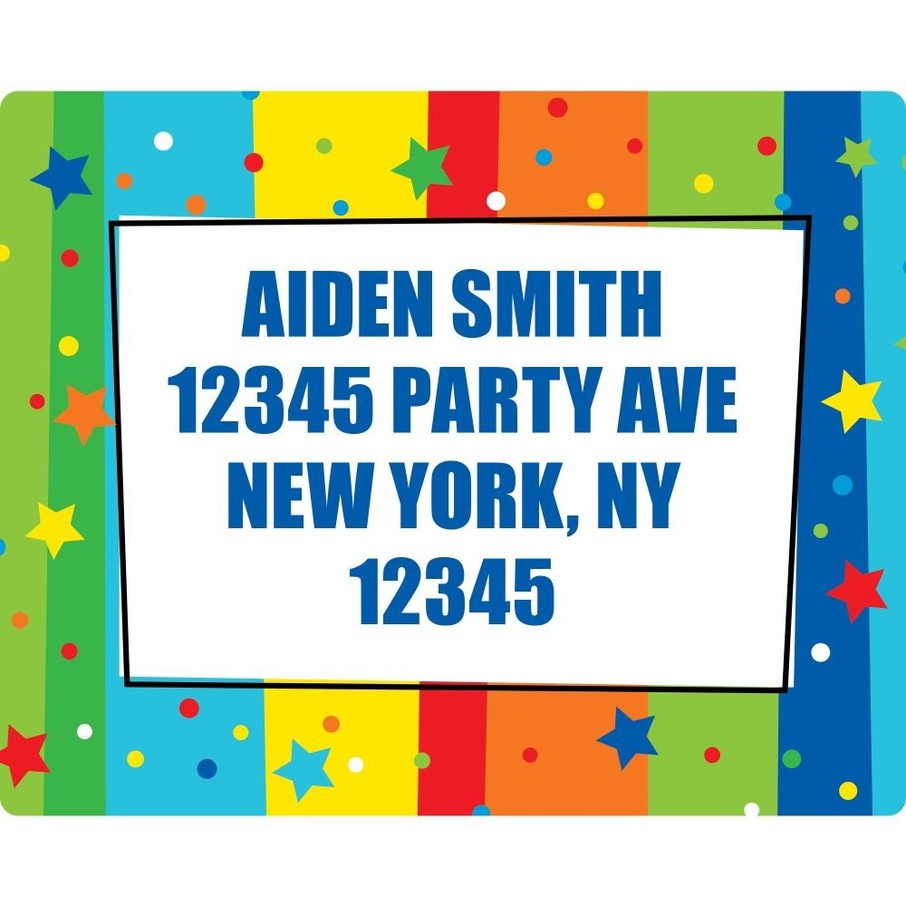 View larger image of A Year to Celebrate Address Labels (Sheet Of 15)