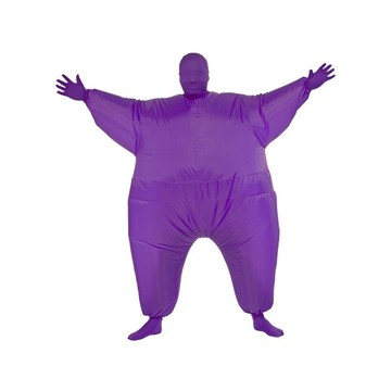 Adult Purple Inflatable Costume