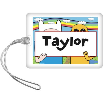 Adventure Time Personalized Bag Tag (Each)