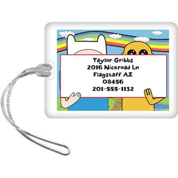 Adventure Time Personalized Luggage Tag (Each)