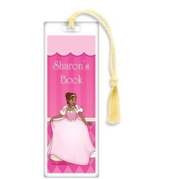 African American Princess Personalized Bookmark (each)