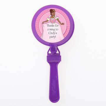 African American Princess Personalized Clappers (Set of 12)