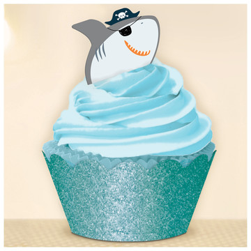 Ahoy Birthday Cupcake Kit