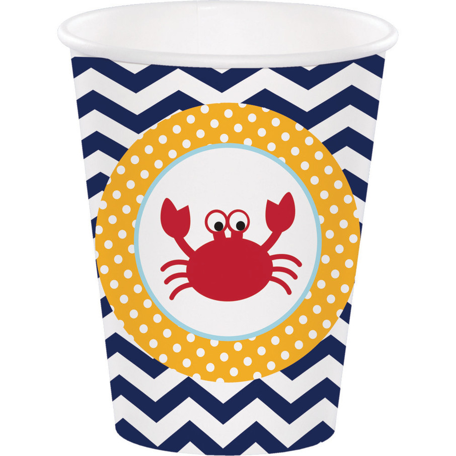 View larger image of Ahoy Matey 9 oz Cups (8 Count)