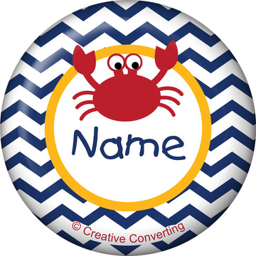 Ahoy Matey Personalized Mini Button (Each)