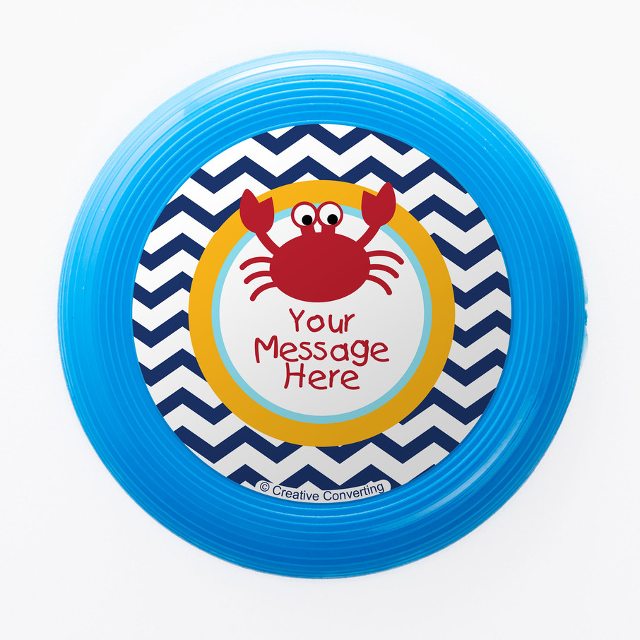View larger image of Ahoy Matey Personalized Mini Discs (Set of 12)
