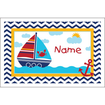 Ahoy Matey Personalized Placemat (Each)