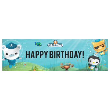 Octonauts Birthday Banner