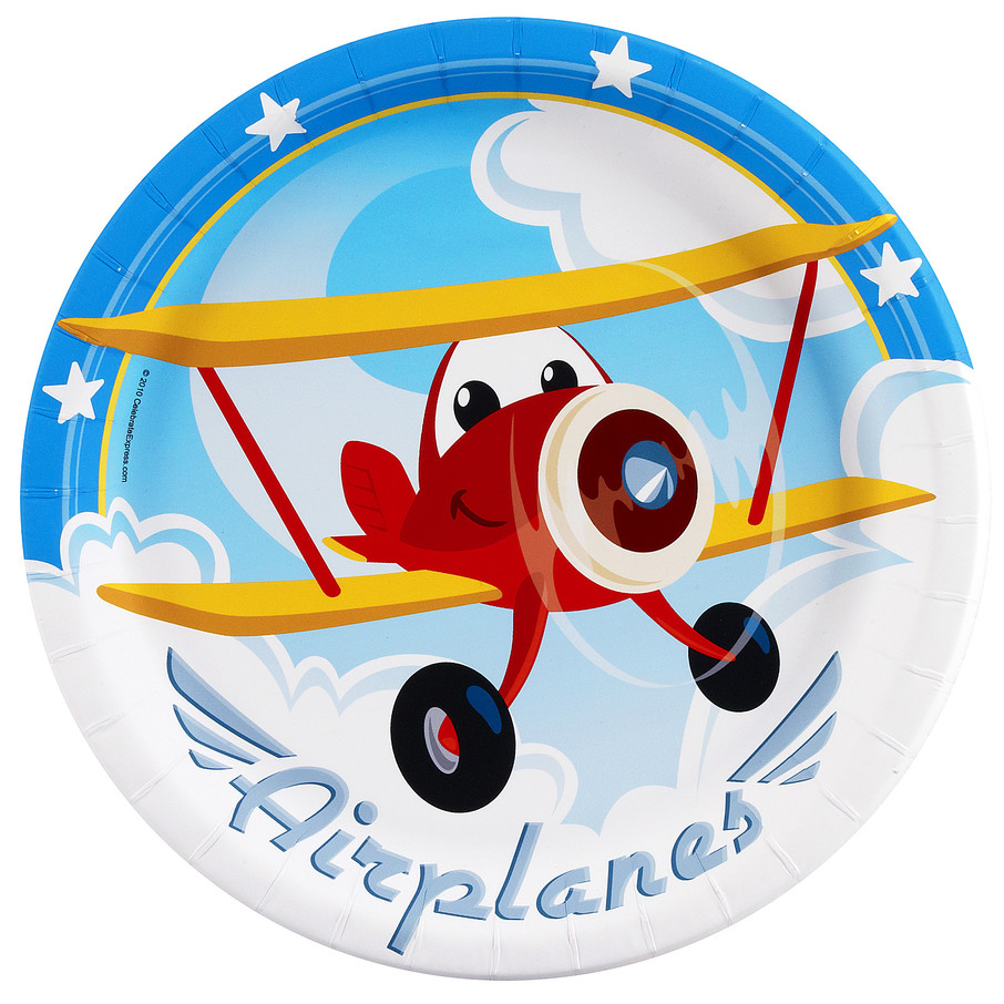 View larger image of Airplane Adventure Dinner Plates