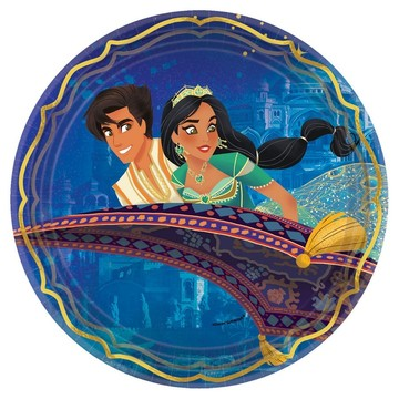 Aladdin Lunch Plates (8)