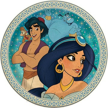 Aladdin Lunch Plates, 8ct
