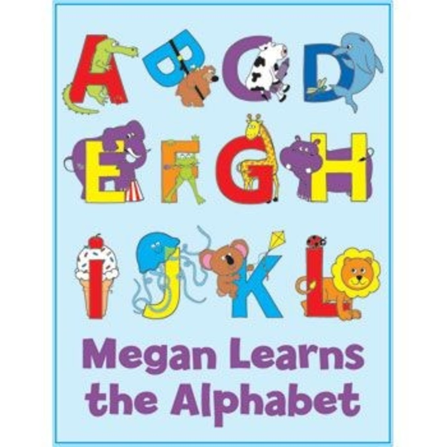 View larger image of Alphabet Personalized Coloring Book (each)